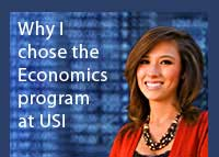 Link to why Amy Beard chose the economics program at USI