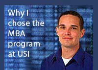 Link to why Andy Dill chose the Master of Business Administration program at USI