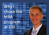 Link to why Jeff Snow chose the Master of Business Administration program at USI