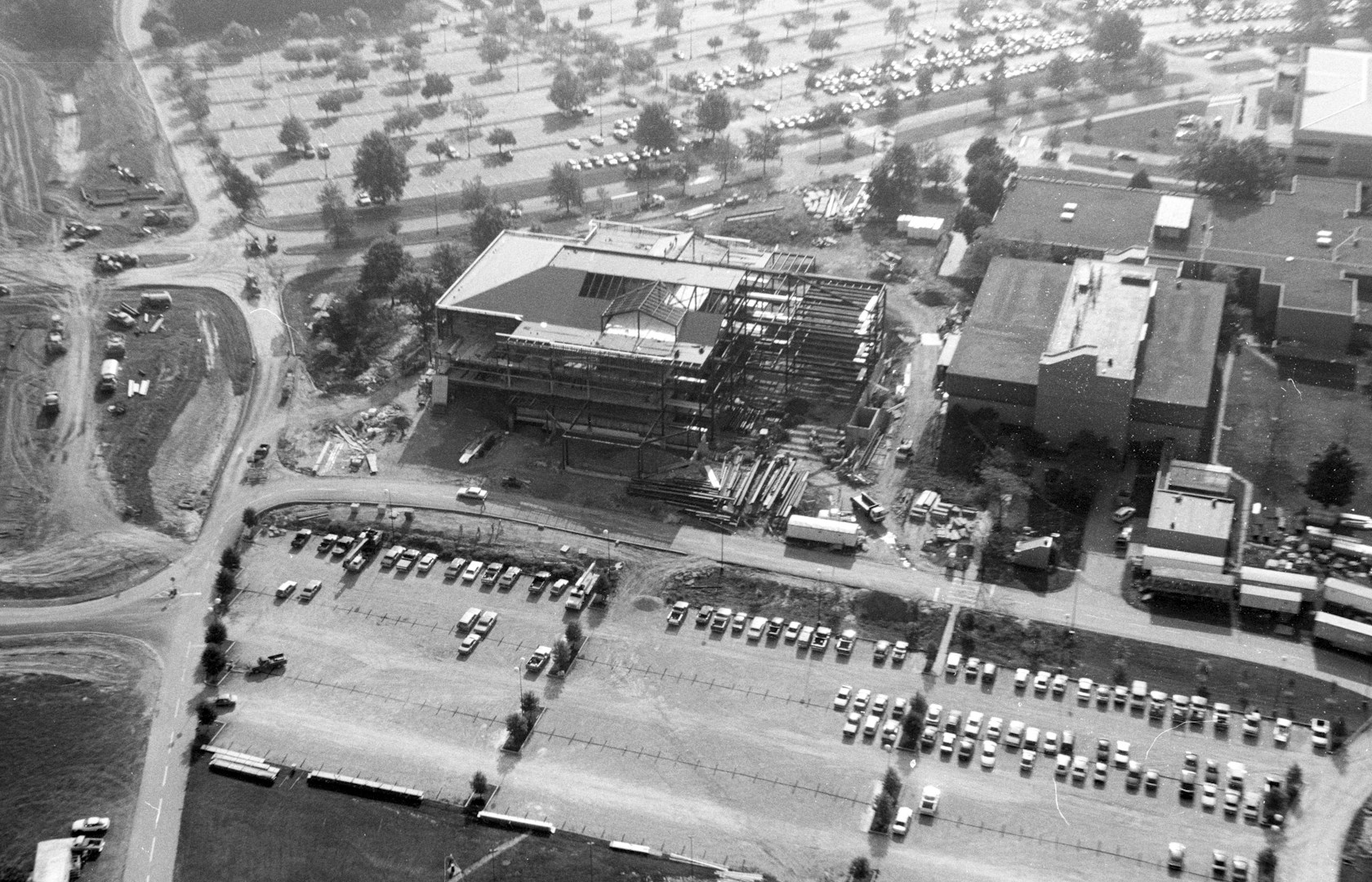 horiz_health professions  aerial in 1993