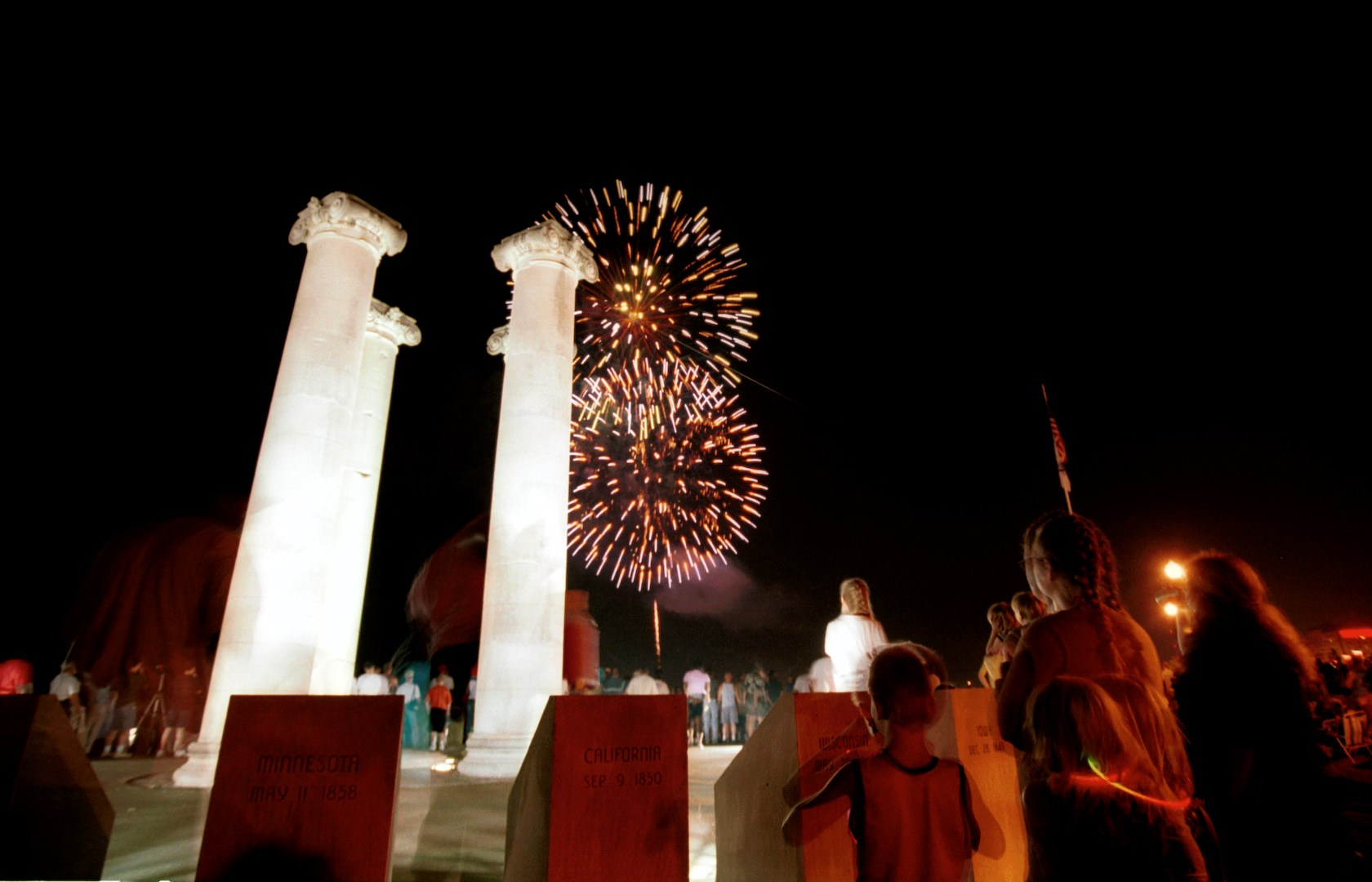 Fireworks at Four Freedoms
