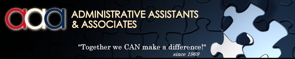 Administrative Assistants and Associates