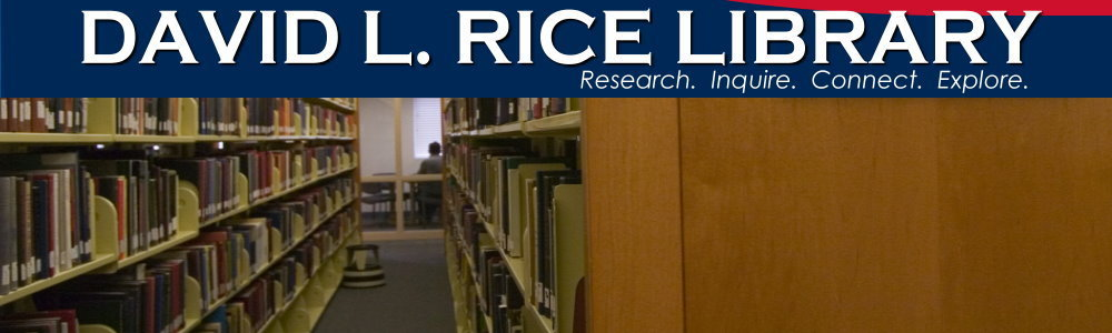 David L. Rice Library collections