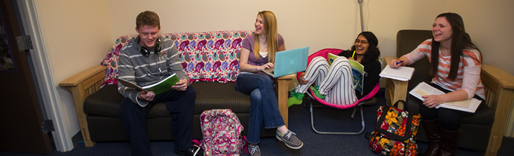 USI honors students in residence halls