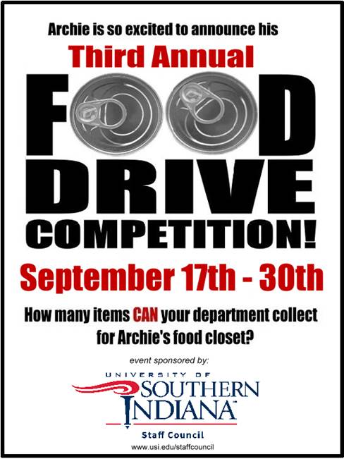 Archie Food Drive