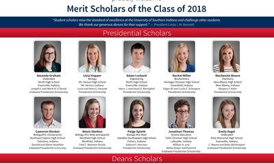 USI Welcomes 2014-2015 Merit Scholars