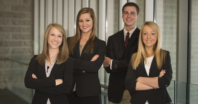 Accounting case team headed to finals in Washington, D.C.
