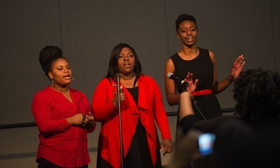 Performance from the 19th Annual Gospel Explosion sponsored by the Multicultural Center.