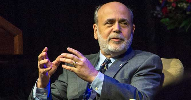 Bernanke Talks Financial Crisis; Gives Advice to Students