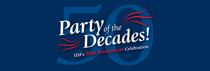 Party of the Decades - USI 50 years