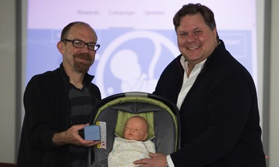 Instructor's Lullafi puts newborn sleep problems to bed