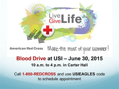 ARC June 30Th Blood Drive Advertisement