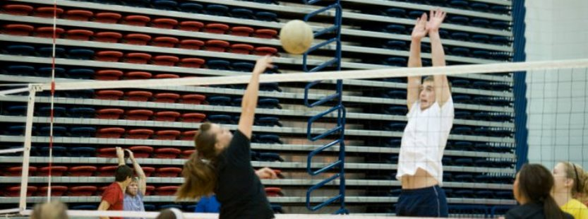 Intramural volleyball