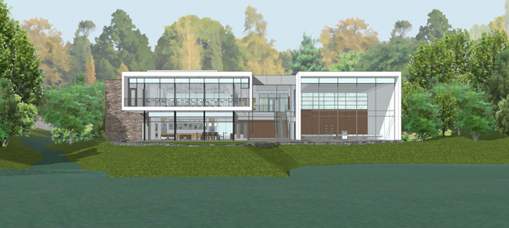 Griffin Center Rendering - East Side