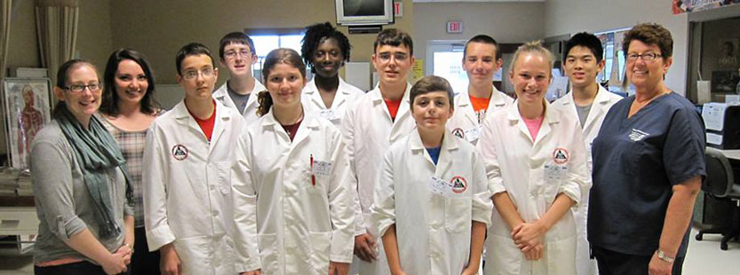 Connecting youth to health careers