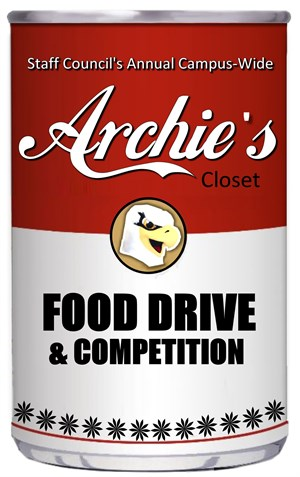 Archies Food Drive Logo