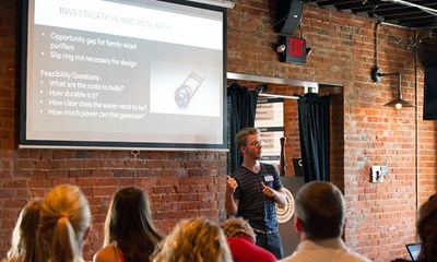 Evansville Tech on Tap event finds promise in student entrepreneurs and startups