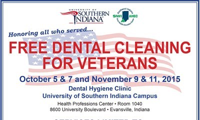 USI Dental Hygiene Clinic to offer free dental cleanings for veterans