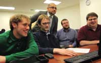 Senior projects give CIS and CS students hands on learning experience