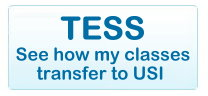 TESS System - See how my classes transfer to USI