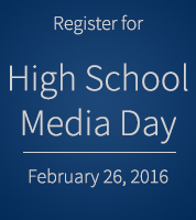 High School Media Day Button