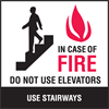 no stairs fire