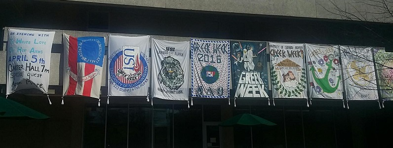 Greek Week 2015 Banners
