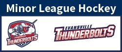 Thunderbolts Minor League Hockey button