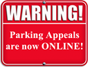Parking appeals now online