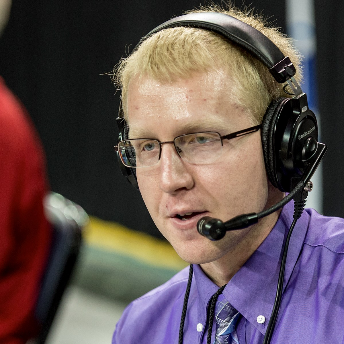 Image for USI student named top radio sports broadcaster in Indiana
