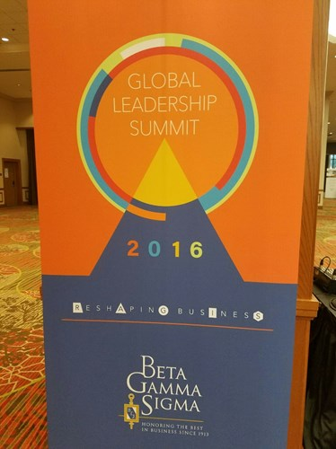 2016 Beta Gamma Sigma Global Leadership Conference