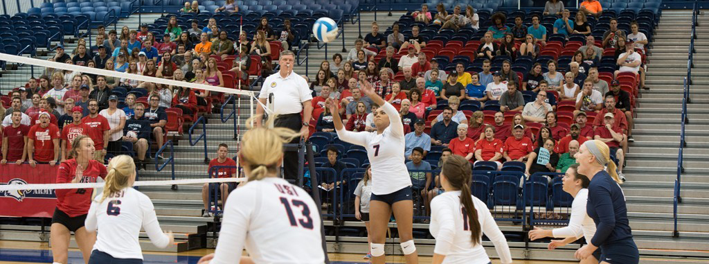 USI volleyball game