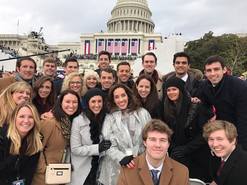 students at the Capitol