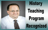 History Teaching Program Recognized