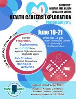 Health Careers Exploration Flyer