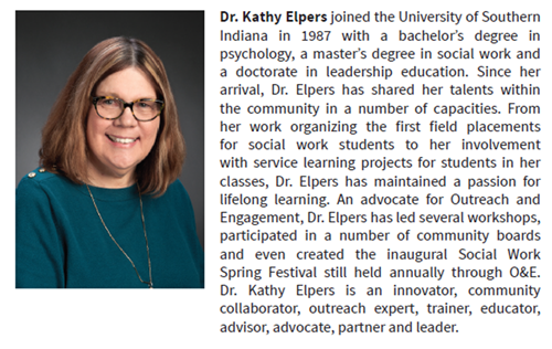 Dr. Kathy Elpers biography