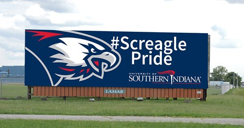 #Screagle Pride Billboard