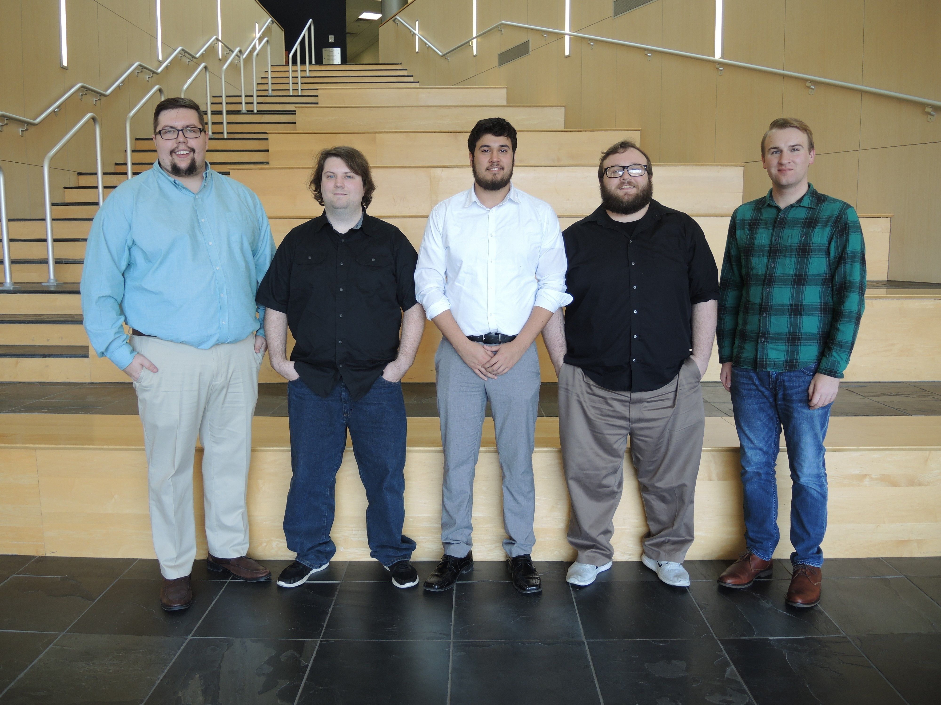 USI CIS student team competing at annual challenge