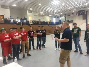 Receiving directions for USI/ Manpower challenge