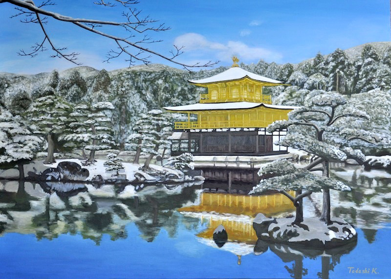 Kinkaku-ji artwork