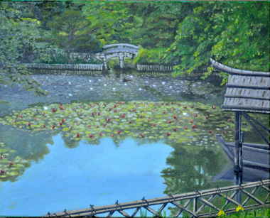 The Water Lily Pond artwork