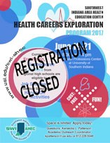 Health Careers Exploration Registration Closed