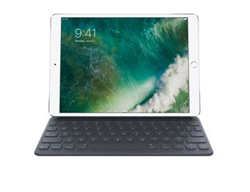 iPad Pro shown with smart keyboard