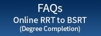 FAQ button for online (degree completion) BSRT
