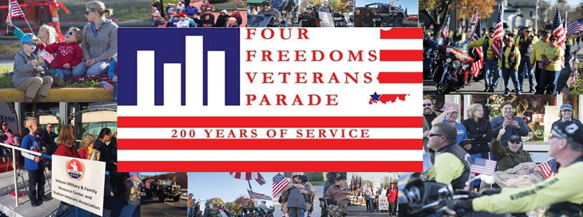 Four Freedoms Veterans Parade