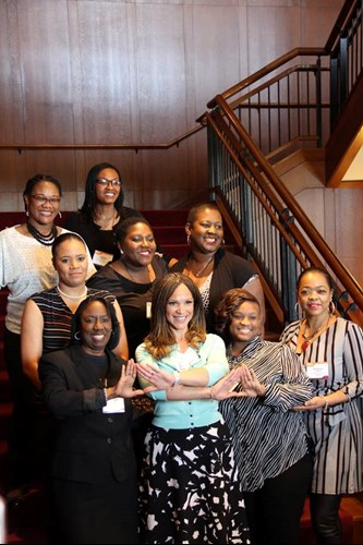 Melissa Harris Perry with WOCA