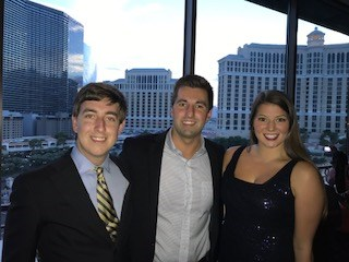 Student officers from USI's Chapter of Alpha Kappa Psi attend AKPsi Convention