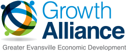 Growth Alliance for Greater Evansville logo