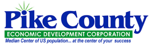 Pike County economic development corporation logo
