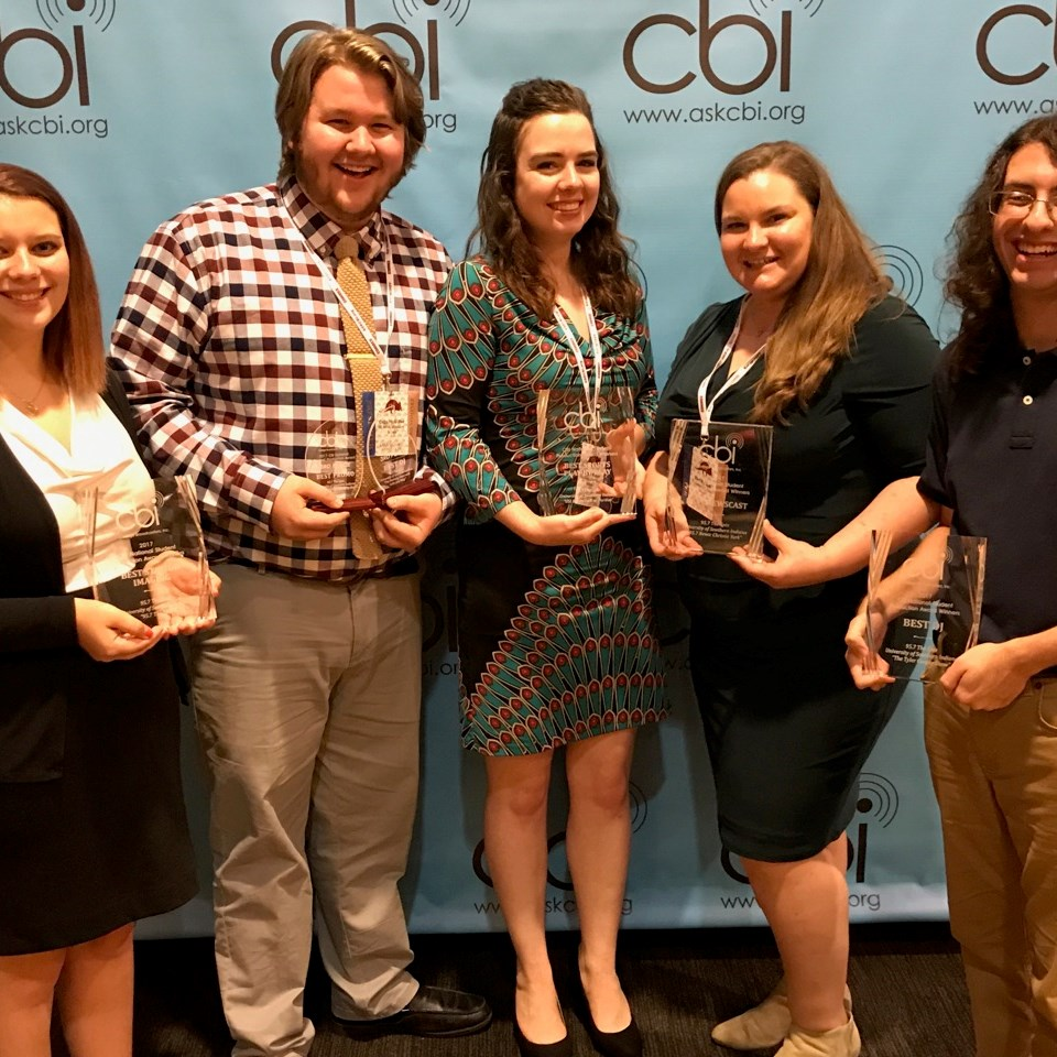 USI radio students dominate awards in CBI competition
